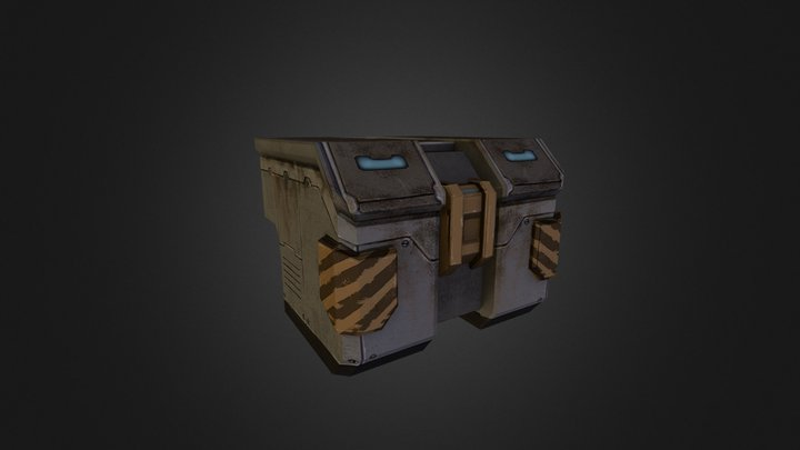 Cargo 02 3D Model