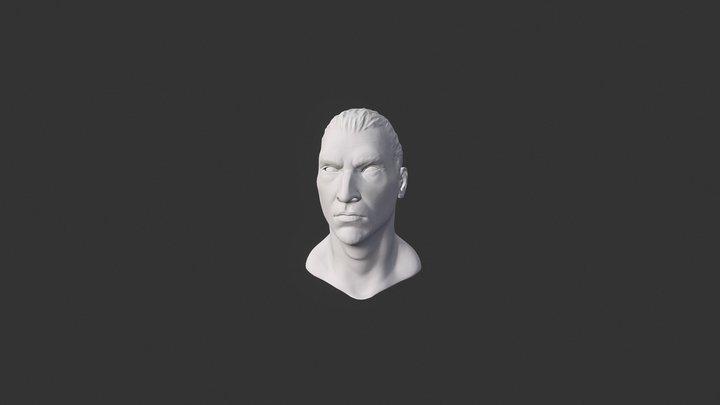 Zlatan Gud 3D Model
