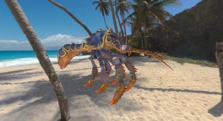 Royal Aquatic Mosquito 3D Model