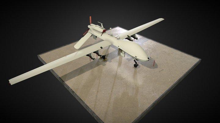 gray eagle 3D Model