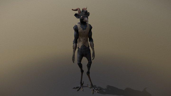Talas Character 3D Model