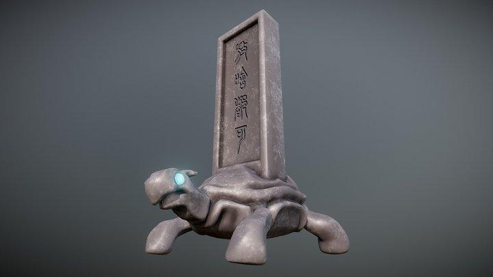 BiXi: A Mythological Tortoise 3D Model
