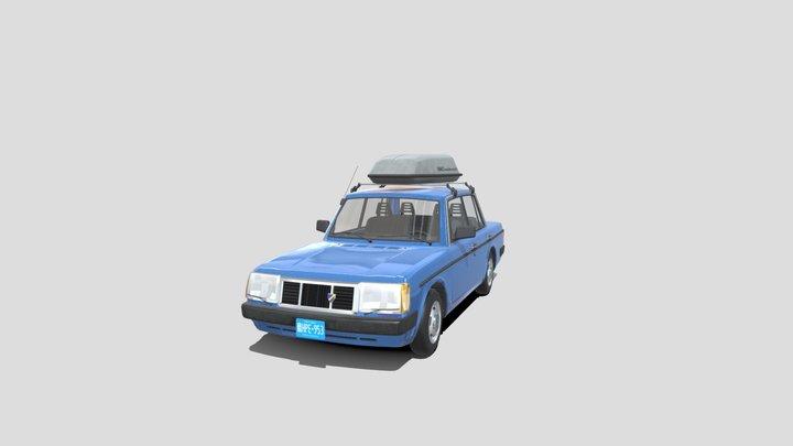 1992 Smaland 150 Sedan with accessories 3D Model