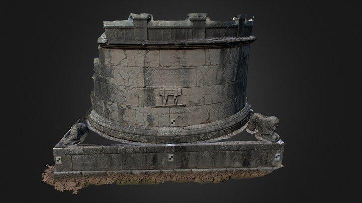 Mausoleo di Ennio Marso - Sepino(CB) 3D Model