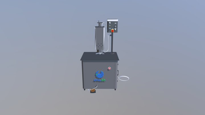Manual sealing machine 3D Model