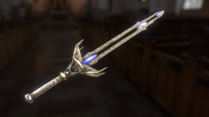 ceremonial sword 3D Model