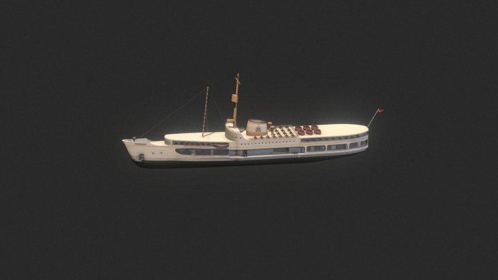 Pasabahce Steamboat 3D Model