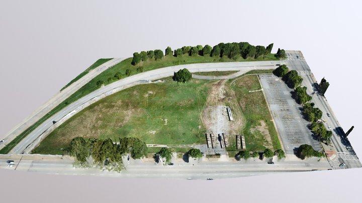 Georgia State Sports Complex 3D Model