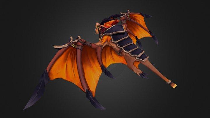 Batrider Mount LoD0 3D Model