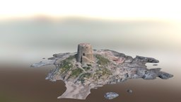 Torre Bari sardo 3D Model