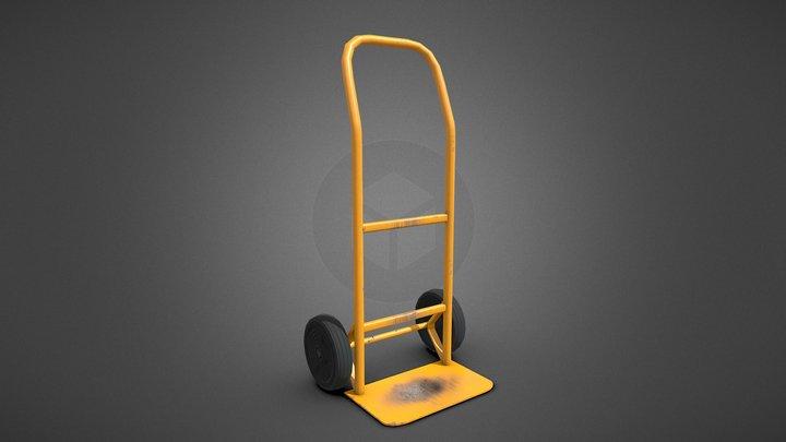 Hand Truck Cart 3D Model