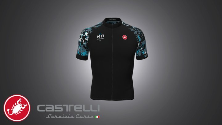 SC18112_MB CYCLERY_4300203 MARATONA JERSEY 3D Model