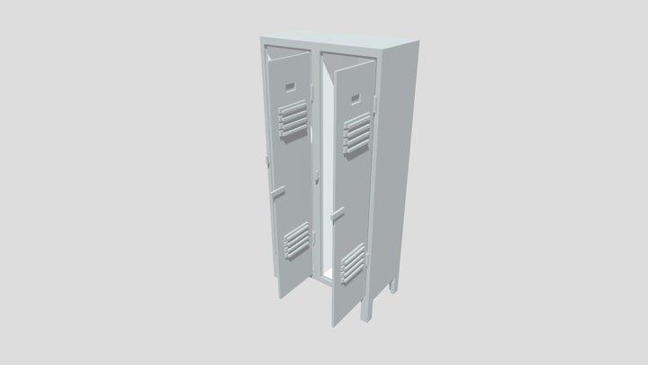 Voxel Cabinet 3D Model