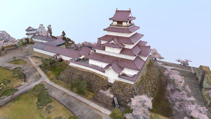 National Historic Site: Tsuruga Castle(japan) 3D Model