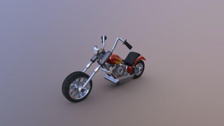 HCR2 Chopper 3D Model