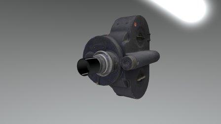 Bell & Howell Key Wind Filmo camera model 70 A 3D Model
