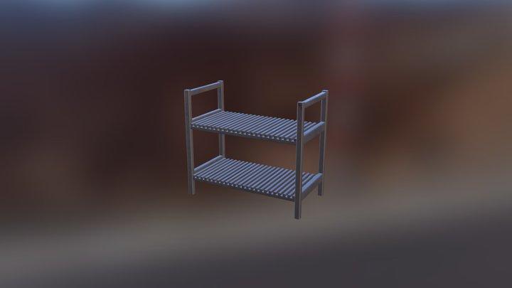 Shoe Shelf 3D Model