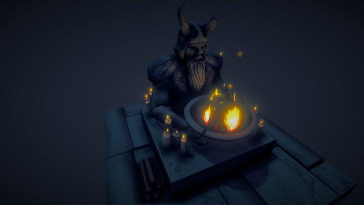 Shrine to Odin 3D Model