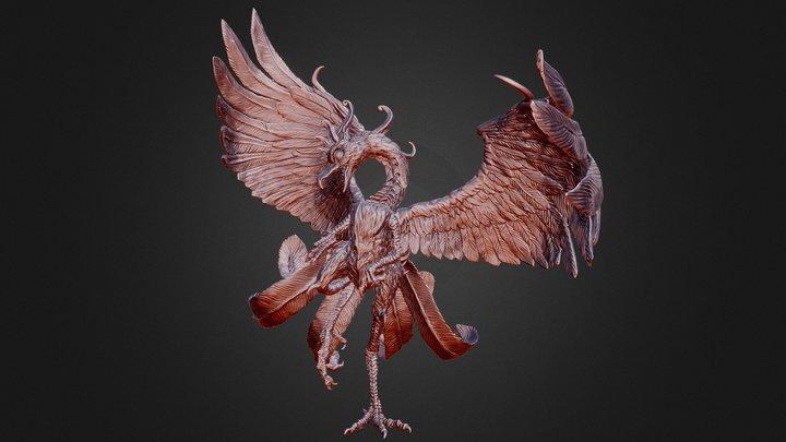 【Xray-CT】鳳凰 [Phoenix] 3D Model