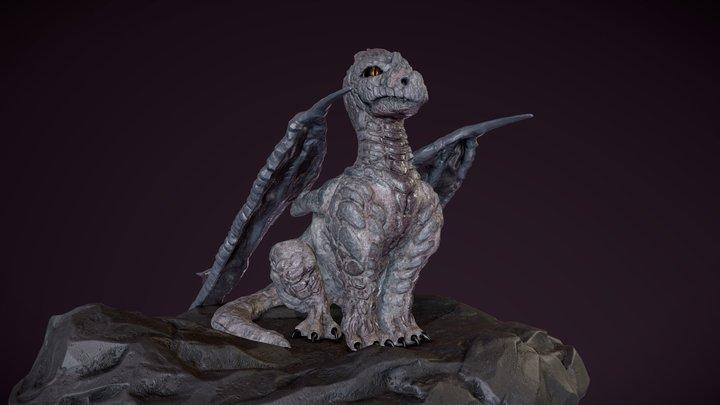 Rocky Dragon 3D Model