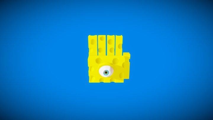 Eyerok  - Super Mario 64 -  Cheese Like Odyssey 3D Model