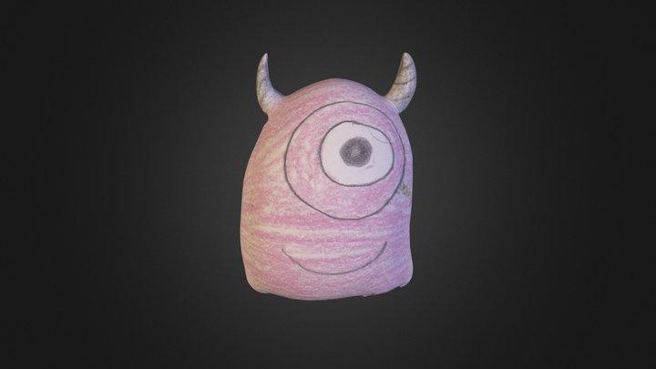 Qubrick Pe P Ciclop Monster 3D Model