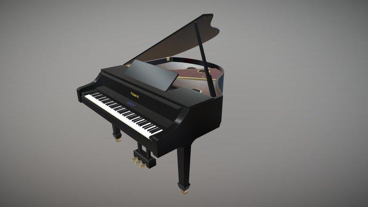 Grand V-Piano / Roland 3D Model