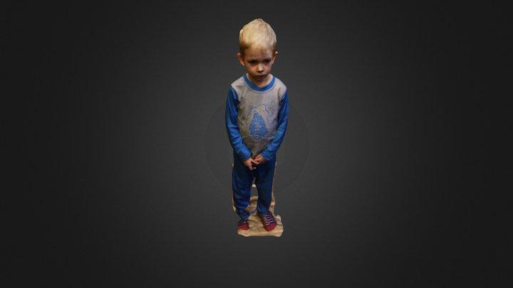 Attila scan 2 3D Model