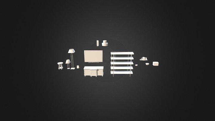 Propy salon 3D Model