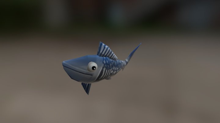 fish friend 3D Model