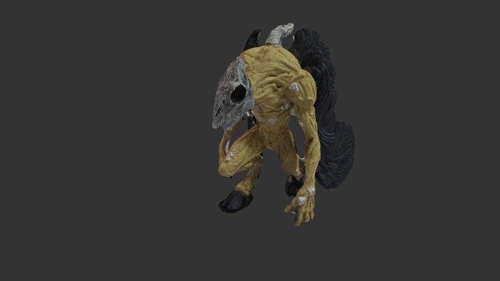 Leukodaemon 3D Model