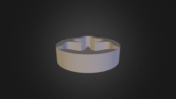 תליון שני נוי חדד 3D Model