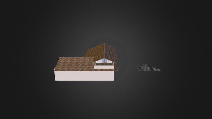 Terrazza casa 3D Model