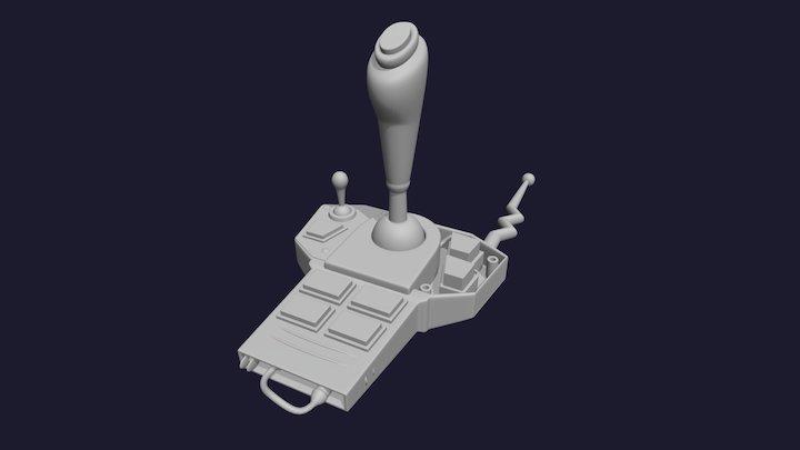 Remote Control B 3D Model