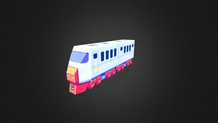Tiny Train 3D Model
