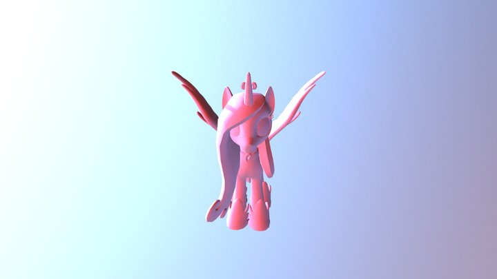 Princess Cadance (Mi Amore Cadenza) 3D Model