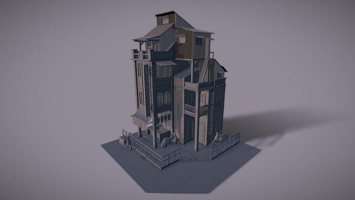 immeuble 3D Model