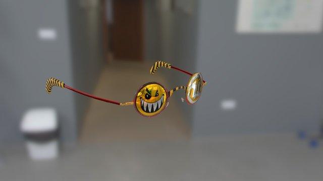 Flak You! Glasses 3D Model