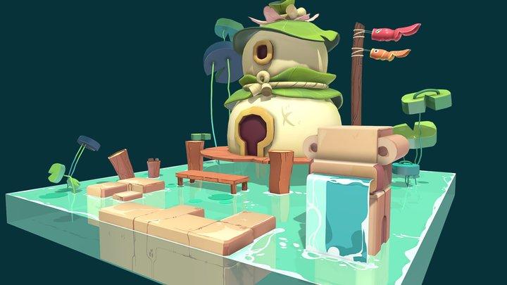 Goldfish house 3D Model