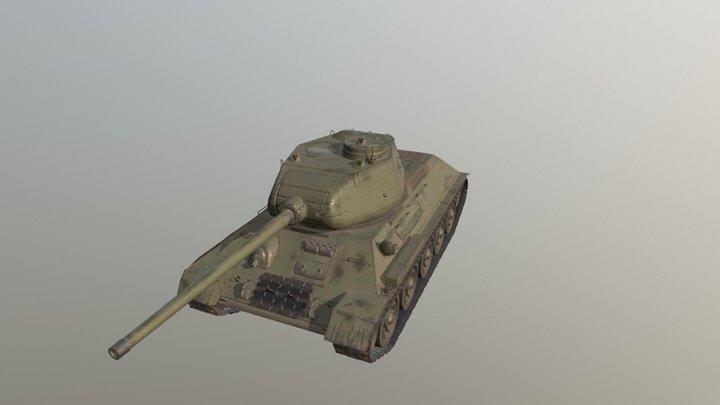 Танк T-34 3D Model