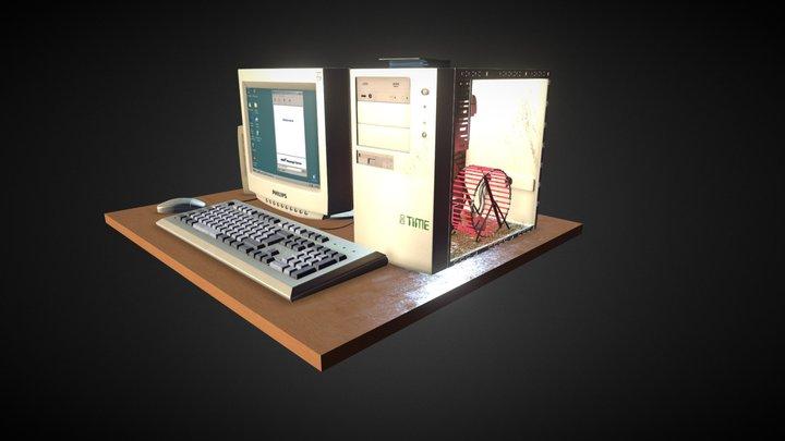 90s Magic 3D Model