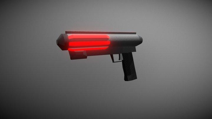 Lithium Blaster 3D Model