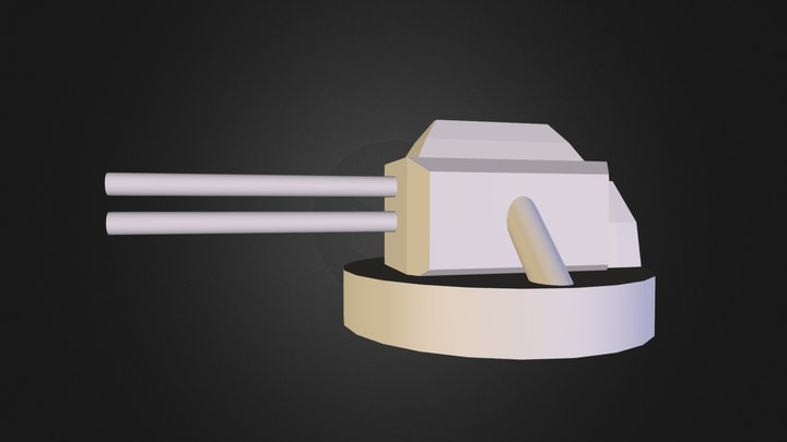 2Barrel2dFlak 3D Model