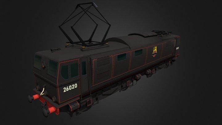 Class 76 EM1 3D Model