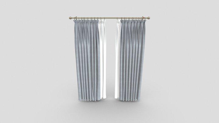 Curtains Test 3D Model