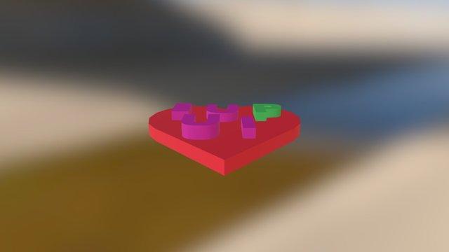 Shiny Trug-kieran 3D Model