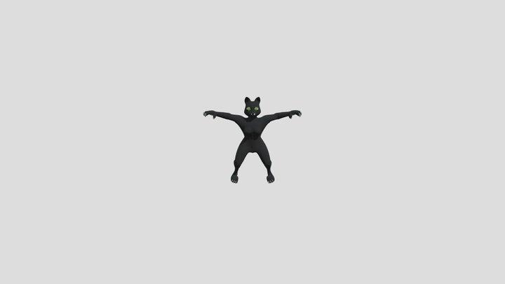 BVH Rig Models Fox, Rabbit, and Cat 3D Model