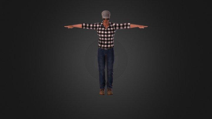 Men Avatar 3D Model