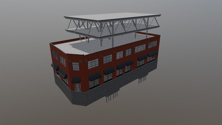 601 Bank Street - Option 2 3D Model