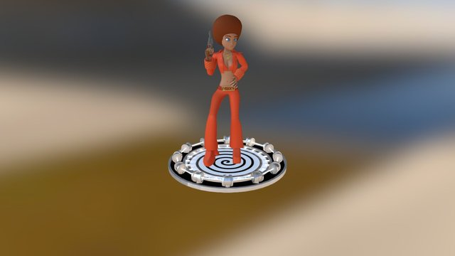 Foxxy 3D Model
